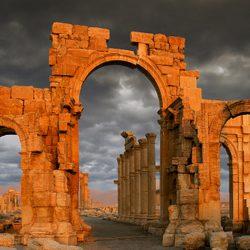 Monumental Arch, Palmyra, Syria.