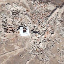 - Tell Hariri Satellite Image from November 2014, with evidence of looting.  Image ©DigitalGlobe   U.S. Department of State, NextView License   Analysis AAAS.