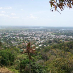 View of Trinidad from Mount Saint Benedict Monastery. Photograph taken by Ned Rinalducci