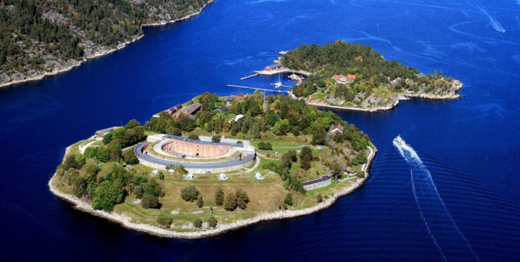Oscarsborg Fortress island, Photo courtesy of Oscarsborg Gestningsverk